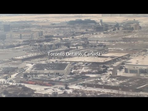 MC VIET THAO- Landing at TORONTO PEARSON INTERNATIONAL AIRPORT- CANADA.