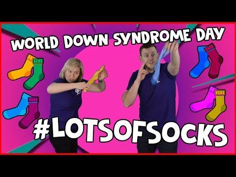 Makaton Sign // World Down Syndrome Day 2018 #LotsOfSocks 🧦🧦🧦