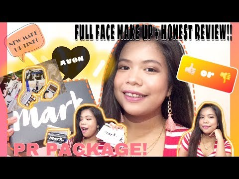 MARK.  By AVON COSMETICS  FULL FACE FIRST IMPRESSION REVIEW (PHILIPPINES) | Monique Cajalne
