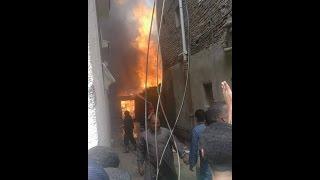 صور  السيطرة على حريق بمخزن أخشاب بـ«الربايعة» في الشرقية