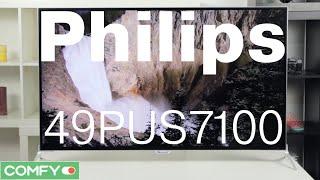 Philips 49PUS7100/12 - 4K телевизор с поддержкой Android TV и 3D - Видеодемонстрация от Comfy.ua(Philips 49PUS7100 - современный Ultra HD телевизор с поддержкой Smart TV на базе ОС Android. Модель оснащена технологией 3D с..., 2015-10-08T06:45:32.000Z)