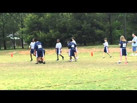 Israil & Gabriel Flag Football game part 2 3/31/2012