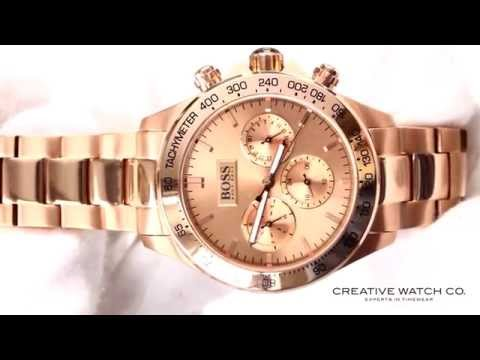 Hands On With The Women S Hugo Boss Ikon Rose Gold Watch 1502371