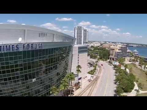 Tampa Bay Times Forum w/ DJI Phantom 2 Vision PLUS (P2V+)