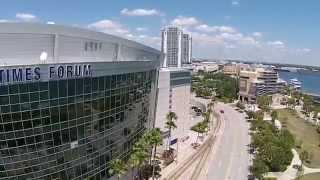 Tampa Bay Times Forum w/ DJI Phantom 2 Vision PLUS (P2V+)