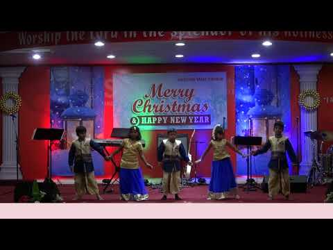 தேனாய் இனிக்க - Thenaai Inikka - Folk Song - Sunday School dance