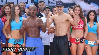 Timothy Bradley vs. Jessie Vargas Full Video- Complete Weigh In + Face Off Video