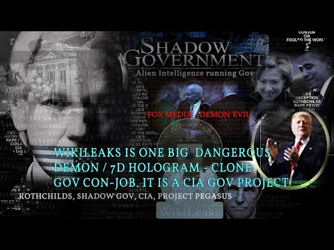 ANONYMOUS GUÄRDIÄŇS : Game over Wikileaks=CIA Deep State Gov / Alien Intelligence controlling Gov's