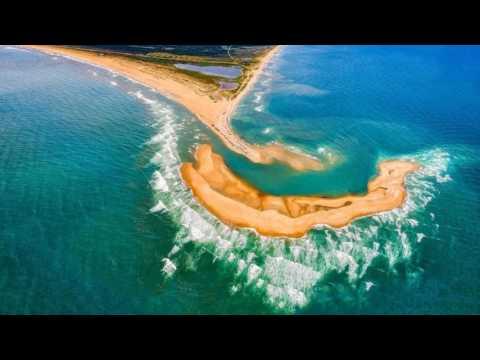 """Noticias del Mundo Estados Unidos: """"Shelly Island"""", la nueva isla que se form... 03/07/17"""