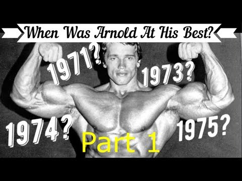 When Was *ARNOLD SCHWARZENEGGER* At His Best? ( Part 1 ) -1973 vs 1974