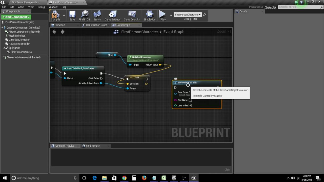UE4 - Saving and Loading your Game