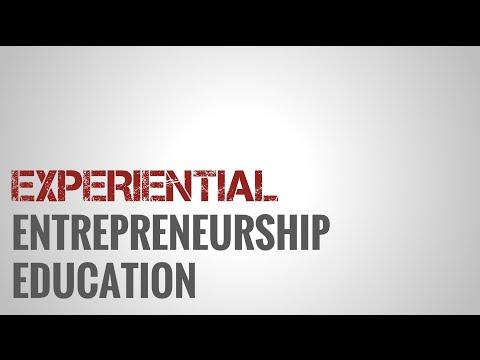 Experiential Entrepreneurship Education Workshop