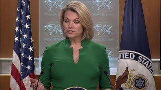 Department Press Briefing - July 31, 2018