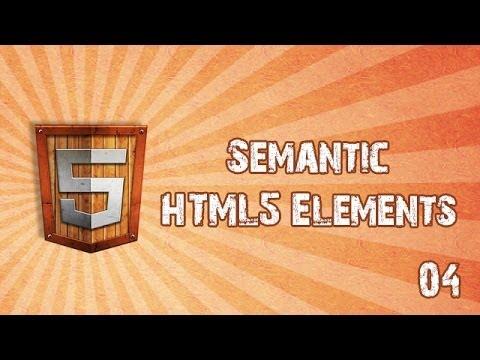 Semantic HTML5 Elements and markup -- HTML5 in Hindi
