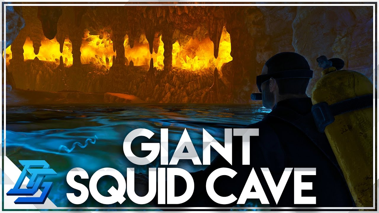 Ark Survival Evolved - Caverns of Lost Hope , New Underwater Cave ...