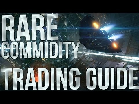 Elite: Dangerous - Rare Commodities Trading Guide - Make 600k-1 Million Credits An Hour Easily!