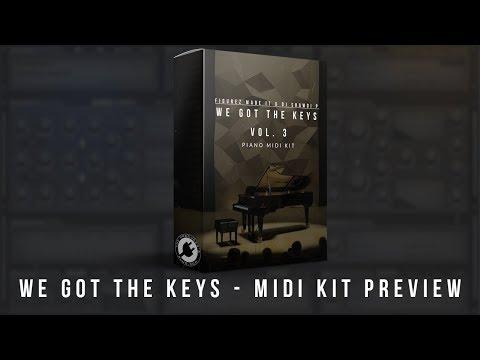 We Got The Keys Vol. 3 | MIDI KIT PREVIEW + FREE DOWNLOAD