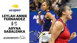 Leylah Annie Fernandez vs Aryna Sabalenka | US Open Highlights