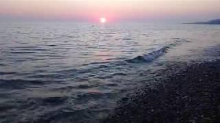 ✦Лазаревское море закат 25.04.2019 Сочи