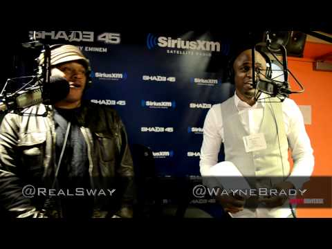 Wayne Brady does the 5 Fingers of Death on #SwayInTheMorning