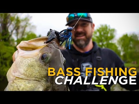 BIG Bass Fishing Challenge | UNEXPECTED Fish Catch!