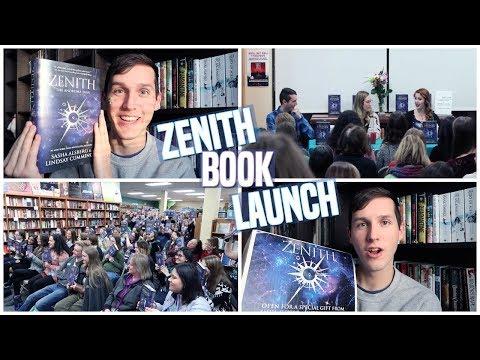 ZENITH BOOK LAUNCH   BOOKISH VLOG FT. SASHA ALSBERG & LINDSAY CUMMINGS
