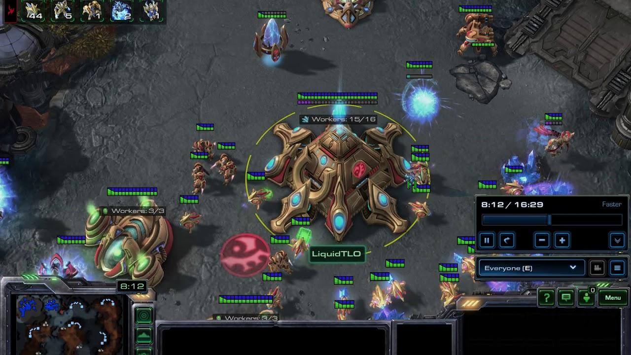 AlphaStar vs TLO Game 3 - DeepMind StarCraft 2