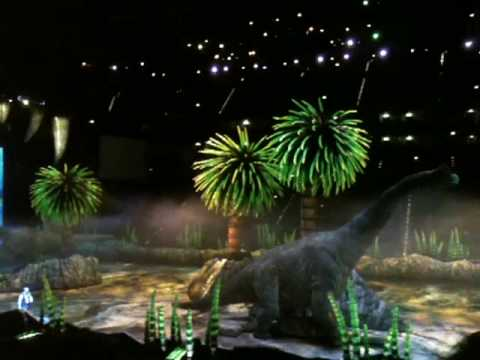 Dinosaurier Im Reich Der Giganten Lanxess Arena Am 100110 Youtube