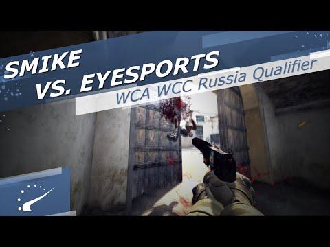 smike vs. EYESports - WCA WCC Russia Qualifier