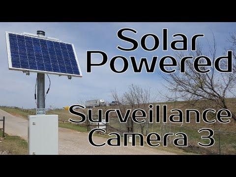 Solar Powered Camera System