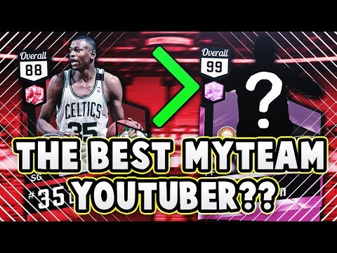 RUBY GOAT REGGIE LEWIS DESTROYS YOUTUBER WITH PINK DIAMONDS IN NBA 2K17 MyTEAM!! (TSFTB)