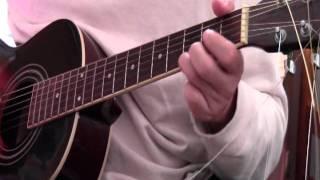 ミニギターで涙そうそう弾いてみました.