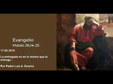 Evangelio del Día Miercoles 17 de Abril
