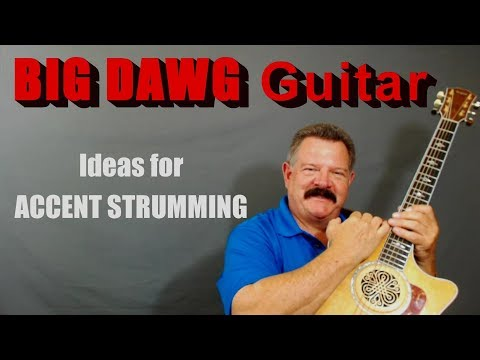 Ideas for Intermediate Level ACCENT STRUMMING - FREE LESSON - Gaylerd.com