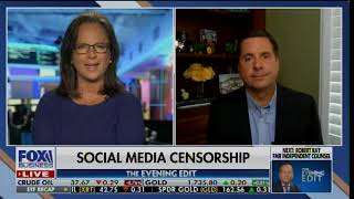 "Devin Nunes: ""It's Very Difficult for Republicans to Win if This Tech Censorship Continues"