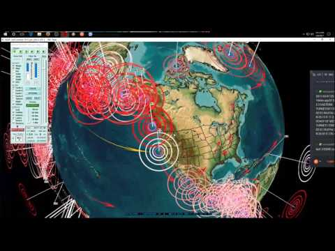 3/06/2017 -- Nightly Earthquake Update + Forecast -- West Coast hit + New deep EQ's hit Pacific