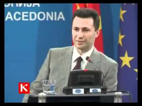 Nikola Gruevski za imeto