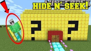 Minecraft: LUCKY GOLEMS HIDE AND SEEK!! - Morph Hide And Seek - Modded Mini-Game
