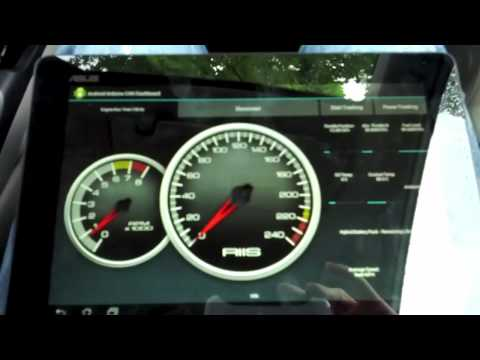 CAN OBD-II Android Arduino Virtual Dashboard