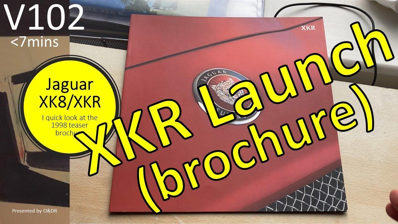 Jaguar XKR 1998 Launch Brochure V102 / XK8 (X100) - YouTube