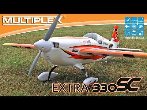 """Extra 330 SC von MULTIPLEX Modellsport Video Testbericht - Teil 3 """"Flugbericht"""""""