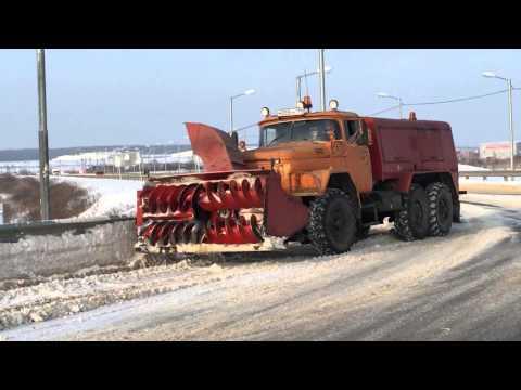 Снегоуборочная машина ЗИЛ