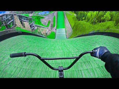 BMX RACE DOWNHILL HILLBOMB