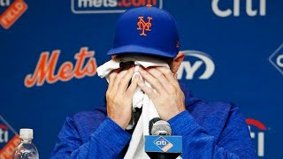 WATCH: David Wright gets emotional about his career and last game