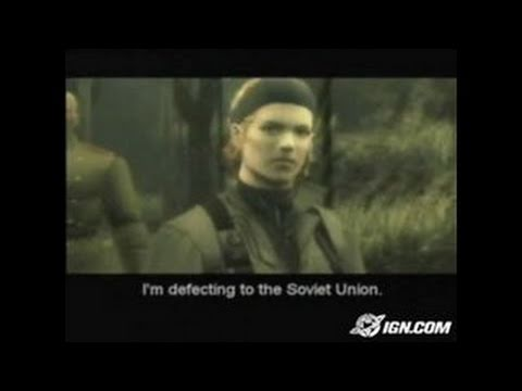 Metal Gear Solid 3: Snake Eater PlayStation 2 Trailer - GC