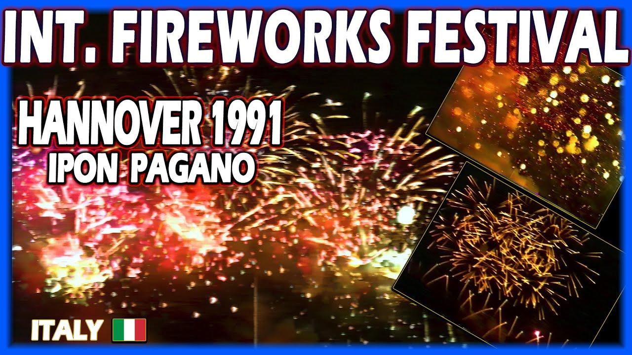 Int. Fireworks Festival Hannover 1991 - IPON Benito Pagano - Italy - Feuerwerk - Vuurwerk