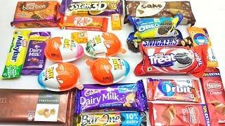 Kinder Joy, Milkybar, Tic Tac, Nestle Classic unboxing only