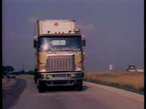 Vintage 1970s Truck Driver PSA: River of Wealth, River of Freedom