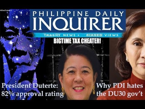 KAYA PALA! -- Why Philippine Daily Inquirer hates the Duterte administration