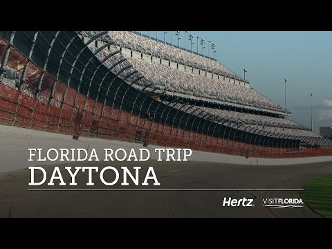 DAYTONA International Speedway + Beach — FLORIDA Travel Vlog